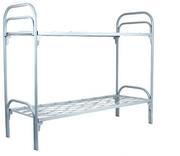 Кровати для рабочих,  одноярусные металлические кровати