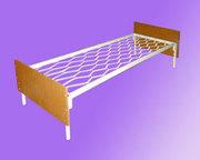 кровати металлические для гостиницы,  кровати для рабочих