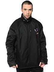продам новую мужскую куртку весна-осень на полного мужчину  56/174/182  Россия черный полиэстер