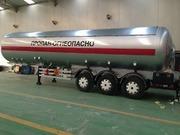Продам газовоз цистерну DOGAN YILDIZ 55 м3