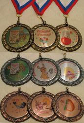 медали на выпускной в детский сад