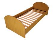 Кровати металлические для детских лагерей,  кровати для гостиниц. опт.