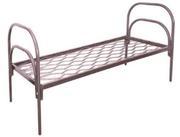 Кровати металлические с ДСП спинками для санаториев,  кровати опт