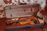 Скрипка Strunal 4/4 и звукосниматель пьезодатчик
