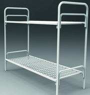 Кровати железные для казарм,  кровати для строителей,  кровати оптом