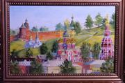 миниатюрные картины для подарка с видами нижнего новгорода