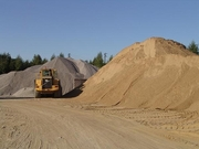 Песок всех фракций в наличии с доставкой от 1 до 30 тонн