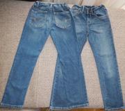 Продам джинсы из Америки на 5-6 лет. Состав 99 % хлопок,  1% спандекс.