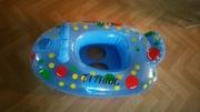 Детский надувной круг для купания