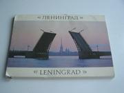 набор Ленинград 22 открытки в обложке.