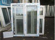 1540 (в) х 1290 (ш) НОВОЕ окно пластиковое №31513 и много разных