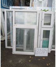 1370 (в) х 900 (ш) БУ окно пластиковое №31504 и много разных
