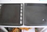 Протвини эмалированные для кухонной плиты 5шт