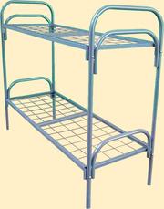 Металлические армейские кровати .армейские двухъярусные кровати