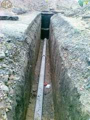 Монтаж и прокладка водопроводов частным домам.