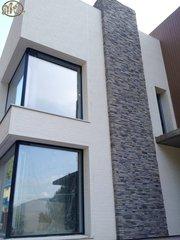 Фасады вентилируемые,  мокрые,  комбинированные.