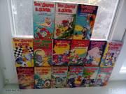 Видеокассеты tom & jerry kids show series vhs 1990