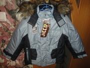 Костюм курточка и полукомбез зимний новый рост 110 см (4-6 лет)
