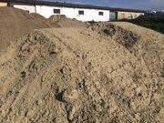 Песок немытый природный,  с доставкой от 1 до 30т.
