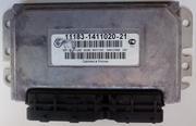Контроллер мозги ЭБУ 11183-1411020-21 Калина1.6L 8V купить в Уфе