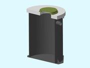 Пластиковый вкладыш,  футляр для герметизации ЖБИ колец