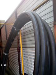 Труба пэ 100 для воды D63х3.8,  38 метров