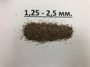 Песок кварцевый фракции 1, 25-2, 5 мм.